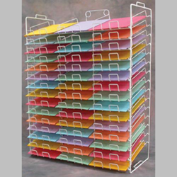 Paper Display Racks